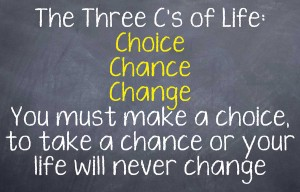 Three C's of Life